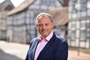 Dirk Schwerdtfeger, Bürgermeisterkandidat der FDP für Burgdorf