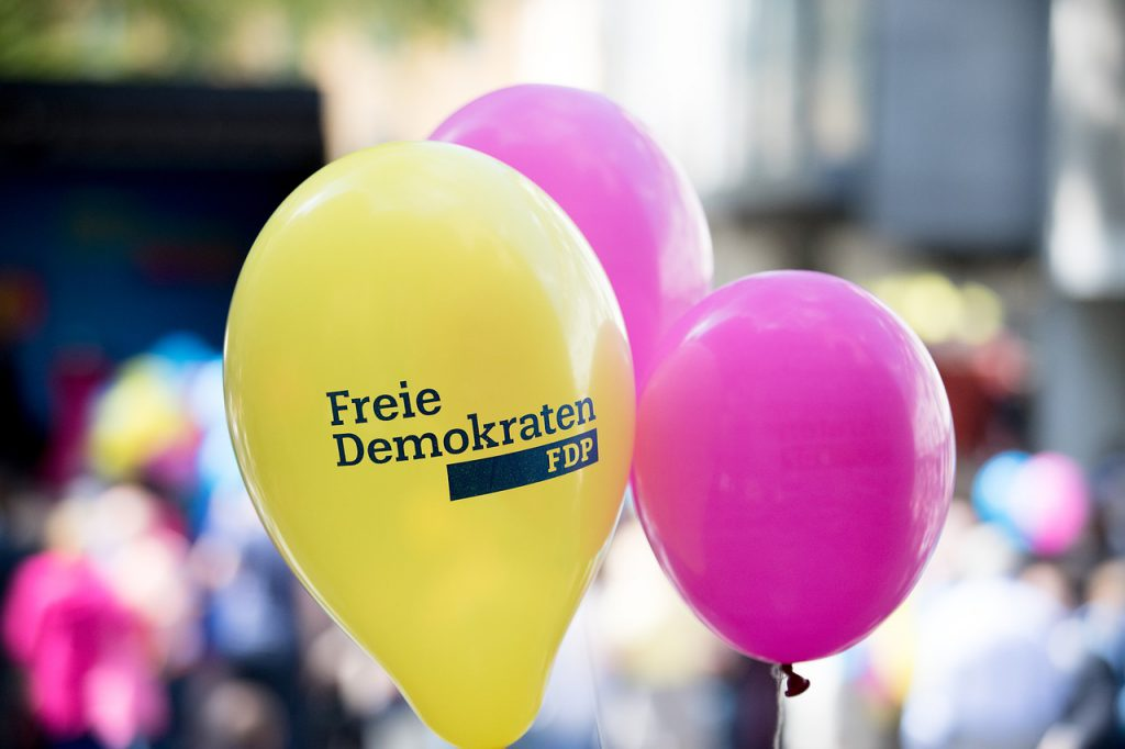 Eintritt bei den Freien Demokraten